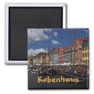 Kopenhagen Vierkante Magneet