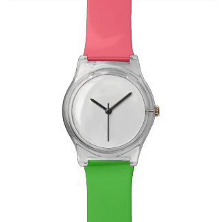 Koraal en Groen horloge May28th