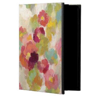 Koraal en Smaragdgroene Tuin iPad Air Hoesje