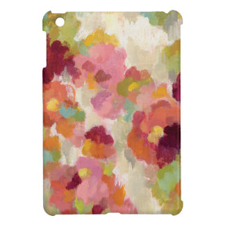 Koraal en Smaragdgroene Tuin iPad Mini Covers