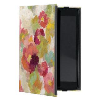 Koraal en Smaragdgroene Tuin iPad Mini Hoesje