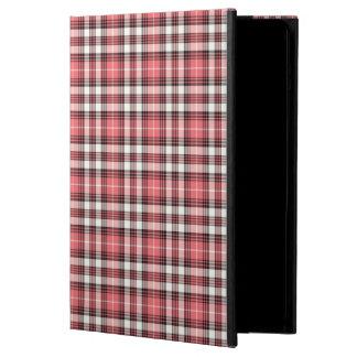 Koraal, het Zwart-witte Hoesje van de Lucht van de iPad Air Hoesje