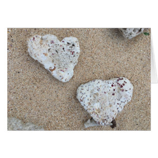 koraal liefde notecard briefkaarten 0