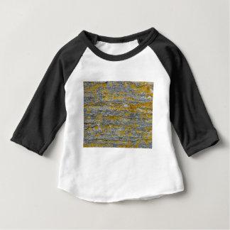 Korstmossen op steen van graniet baby t shirts