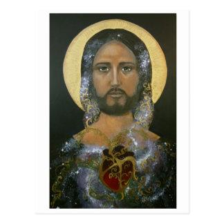 """""""Kosmische Christus"""" (c) 2015 Briefkaart"""