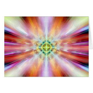 kosmische etherische kaliedoscope van het letten briefkaarten 0
