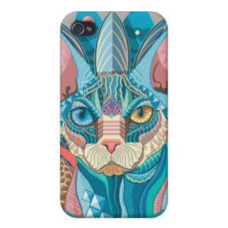 Kosmische Kat Sphynx iPhone 4/4S Hoesje