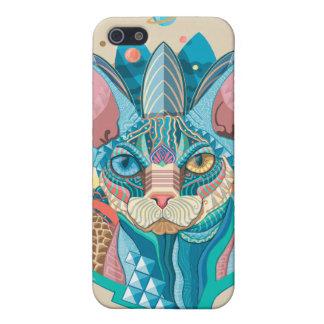 Kosmische Kat Sphynx iPhone 5 Hoesje
