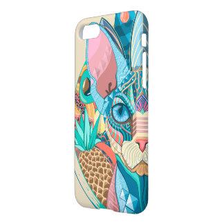 Kosmische Kat Sphynx iPhone 8/7 Hoesje