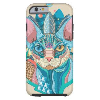 Kosmische Kat Sphynx Tough iPhone 6 Hoesje