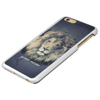 KOSMISCHE KONING   van de LEEUW Veer glanst Incipio Feather® Shine iPhone 6 Plus Hoesje