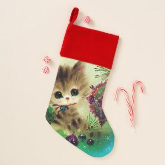 Kous van de de kattenVakantie van Kerstmis van Kerstsok