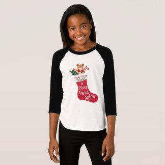Kous van Kerstmis van het Riet van het Snoep van T Shirt