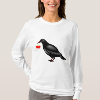 Kraai met het Overhemd van het T-shirt van Bessen