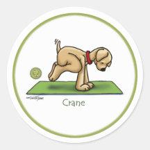 Kraan - de stickers van de Yoga