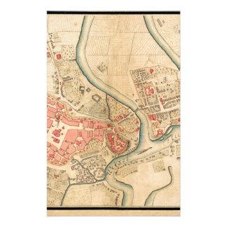 Krakau Polen 1755 Briefpapier