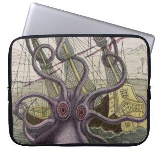 Kraken/Octopus Eatting een Schip van de Piraat, Kl Laptop Computer Hoezen