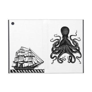 Kraken versus de liefde van Steampunk van het Hoes iPad Mini Hoesje
