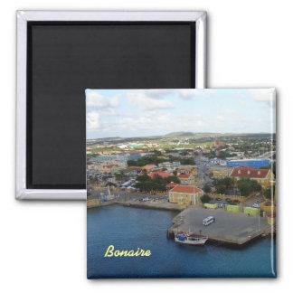Kralendijk Harborfront Vierkante Magneet
