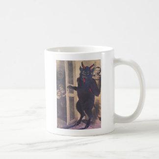 Krampus die Familie verzamelen Koffiemok