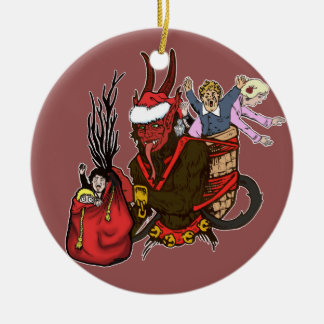 Krampus ving het Ongehoorzame Ornament van