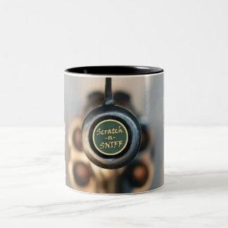 Kras en Snuifje Tweekleurige Koffiemok