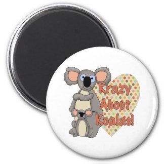 Krazy over Koala's Koelkast Magneetje