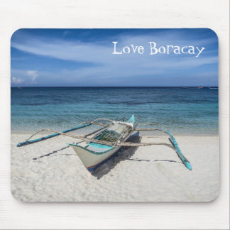 Kreeg om van Boracay te houden Muismatten
