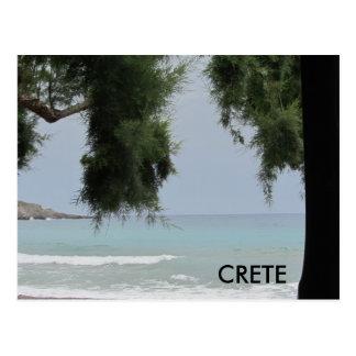 Kreta langs de Middellandse Zee Briefkaart