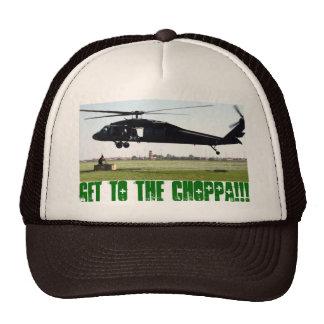 Krijg aan choppa!!! petten