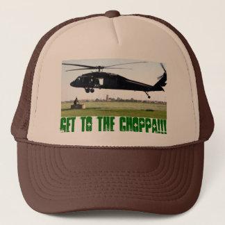 Krijg aan choppa!!! trucker pet