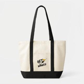 Krijg de de Vastgehaakte T-shirts en Giften van de Impulse Draagtas