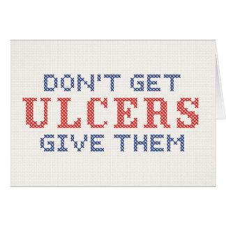 Krijg geen Zweren Briefkaarten 0