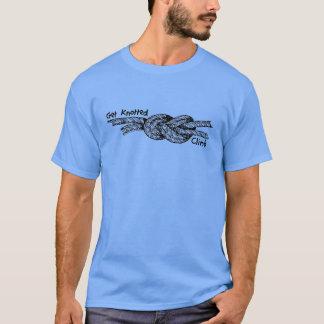 Krijg het Geknoopte T-shirt van de Bergbeklimming