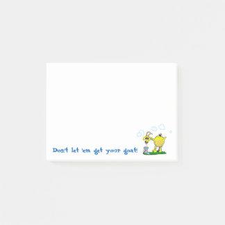 Krijg Uw Kleverige Nota's van de Geit Post-it® Notes