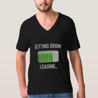 Krijgend het Drinke Laden Grappig T Shirt