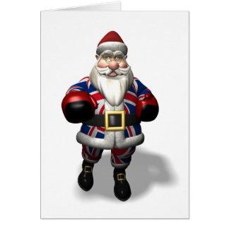Kris Kringle op Tweede kerstdag Wenskaart