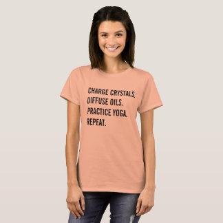 Kristallen, Oliën, Yoga T Shirt