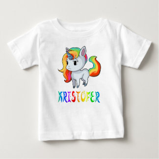 Kristofer Unicorn Baby T-Shirt