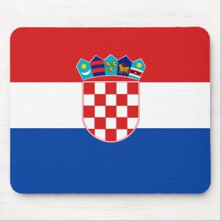 Kroatische Vlag Muismatten