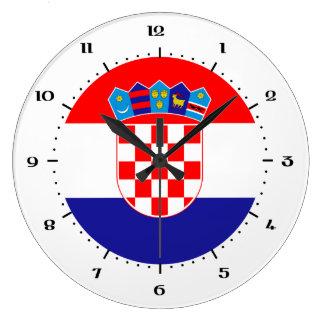 Kroatische vlagklokken grote klok