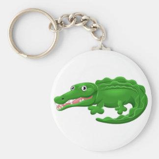 Krokodil of het Krokodille Dierlijke Karakter van Sleutelhanger