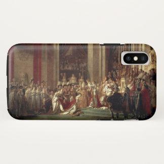 Kroning van Napoleon door Jacques-Louis David iPhone X Hoesje