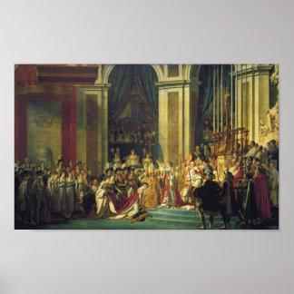 Kroning van Poster Napoleon