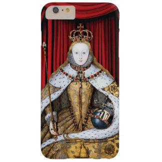 Kroning van Tudor Koningin Elizabeth I Barely There iPhone 6 Plus Hoesje