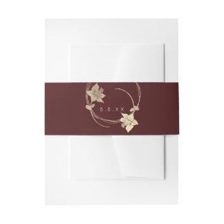 Kroon Lux van de Open vlakte van Bourgondië de Uitnodigingen Wikkel