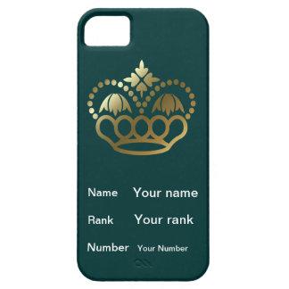 Kroon met Naam, Rang, Aantal - wintertaling Barely There iPhone 5 Hoesje