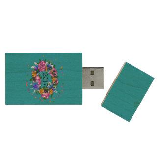 Kroon van de Aandrijving van USB van de Belofte Houten USB 2.0 Stick