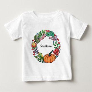 Kroon van de Pompoen van de waterverf de Mooie met Baby T Shirts
