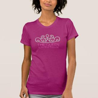 Kroon van de Roze Exclusieve Trendy Ontwerper T T Shirt